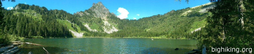 Panoramic of Eagle lake